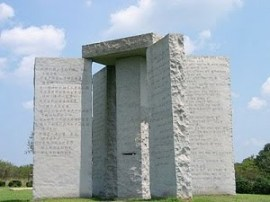 Die Georgia Guidestones