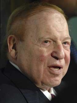 Sheldon Adelson, der grosse Humanist und Geldwäscher