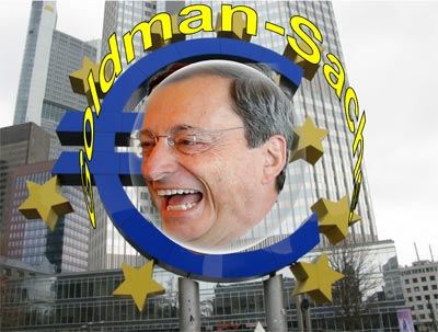 Mario Draghi regiert die BRD für Goldman-Sachs als EZB-Chef