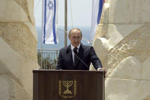 Putin in Israel
