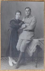 Merkels Großvater in der Uniform der Haller-Armee.(Foto: picture alliance / dpa)